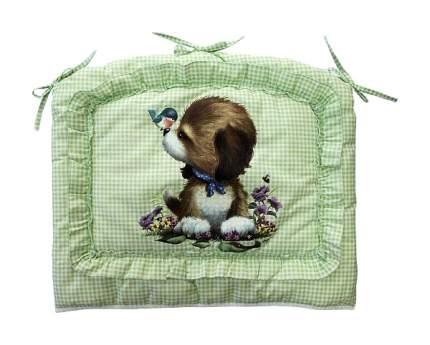 ЗОЛОТОЙ ГУСЬ Бампер в кроватку Аленка (цвет: зеленый) 4014