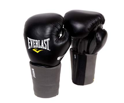 Боксерские перчатки Everlast Protex3 S/M черные 14 унций