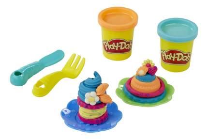 Набор для лепки из пластилина play-doh ягодные тарталетки b3398