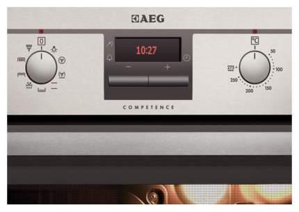 Встраиваемый электрический духовой шкаф AEG BE300202RM Silver