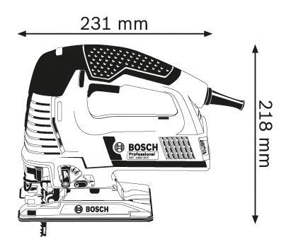 Сетевой лобзик Bosch GST 1400 BCE 601515101