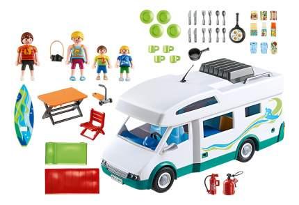 Аквапарк: семейный автомобиль - дом на колесах