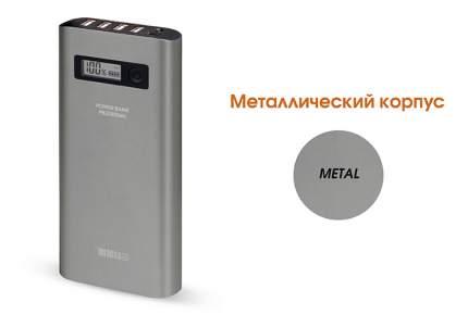 Внешний аккумулятор InterStep PB208004U 20800 мА/ч (IS-AK-PB208004U-000B201) Grey