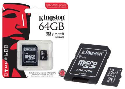 Карта памяти Kingston Micro SDXC SDCIT 64GB