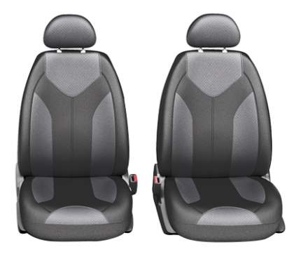 Комплект чехлов на сиденья Autoprofi Matrix MTX-1105G BK/D.GY (S)