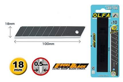 Сменное лезвие для строительного ножа OLFA OL-LBB-10B