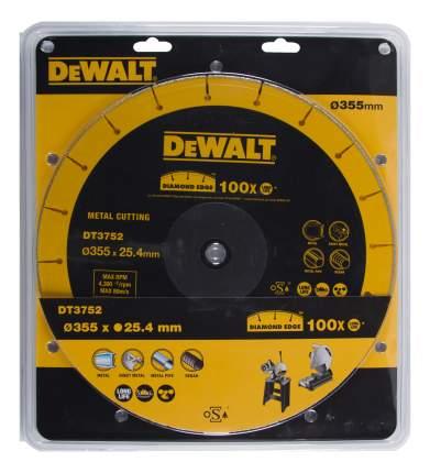 Диск отрезной алмазный по прочим материалам DeWALT DT3752-QZ