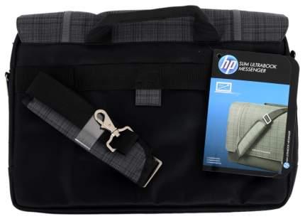 "Сумка для ноутбука 15.6"" HP Ultrabook Messenger серая/черная"