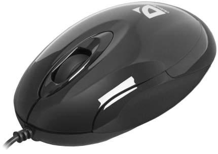 Проводная мышка Defender Phantom MM-320 Black (52818)