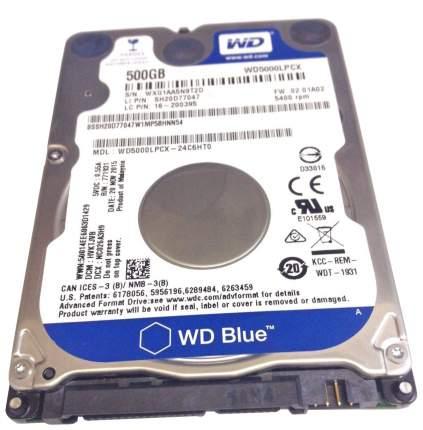 Внутренний жесткий диск Western Digital Blue 500GB (WD5000LPCX)