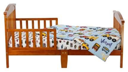 Кровать Dream On Me Classic Sleigh Toddler Bed Pecan