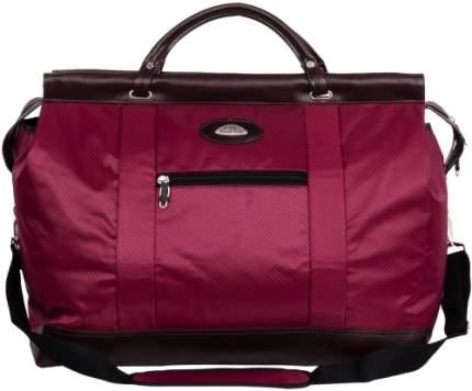 Дорожная сумка Polar 7021 бордовая 51 x 25 x 37
