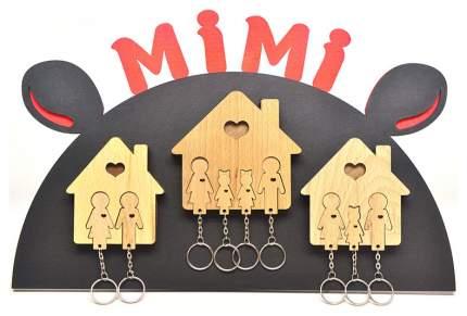 """Ключница Mimi """"семья с сыном и дочерью"""""""