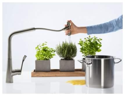Смеситель для кухонной мойки Hansgrohe Metris Select 14884000 хром