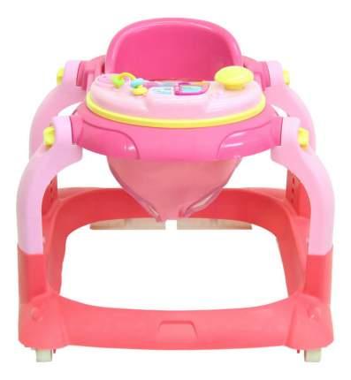 Ходунки детские Тополь Selby BS-511 (1) розовый/светло-розовый