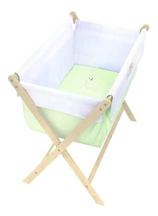 Кровать-Колыбель Polini, зеленый