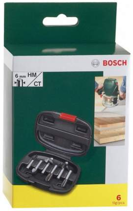 Набор фрез Bosch xPromo 6Px6 2607019464