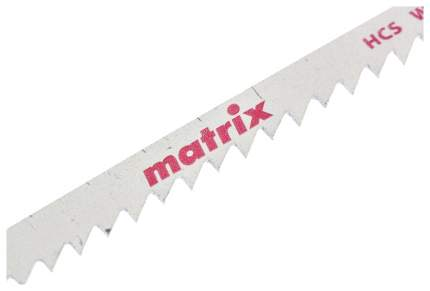 Пилки для лобзика MATRIX по дереву 3 шт T111D, 75 x 4 мм HCS 78226