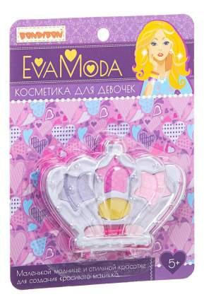 Набор детской косметики Eva Moda корона с тенями для век Bondibon BB1762