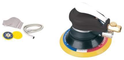 Пневмошлифмашина орбитальная FUBAG SR150CV с пылеотводом c набором
