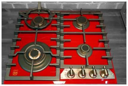 Встраиваемая варочная панель газовая Kaiser KCG 6335 RotEm Turbo Gold/Red