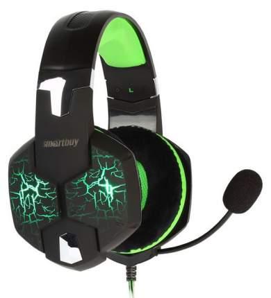 Игровые наушники SmartBuy RUSH TAIPAN SBHG-3100 Green/Black