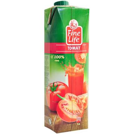 Сок Fine Life томат с мякотью 1 л