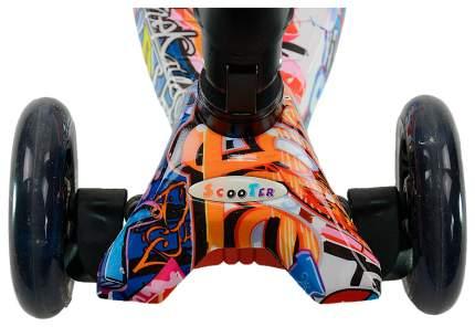 Самокат трехколесный Farfello S925W Граффити