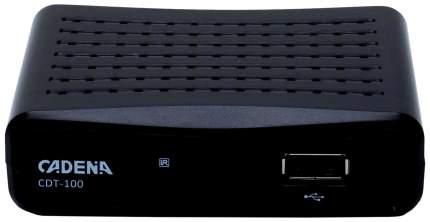 DVB-T2 приставка Cadena CDT-100 Black