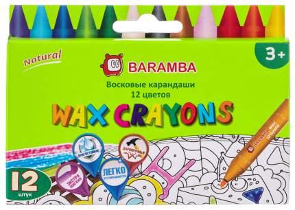 Карандаши цветные BARAMBA 12 цветов