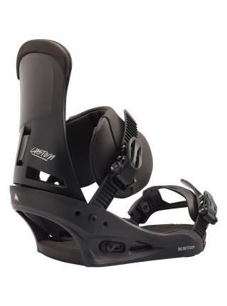 Крепления для сноуборда Burton Custom 10542106001 2020, черные, M