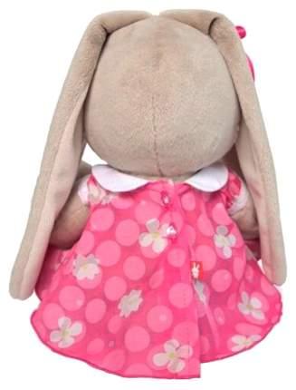 Мягкая игрушка «Зайка Ми» в розовом платье с белым воротничком, 18 см Зайка Ми