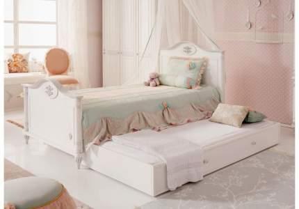 Кровать выдвижная Cilek Romantic 90х190 см, белый