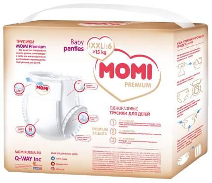 Подгузники-трусики Momi Premium XXL от 15 кг, 26 шт