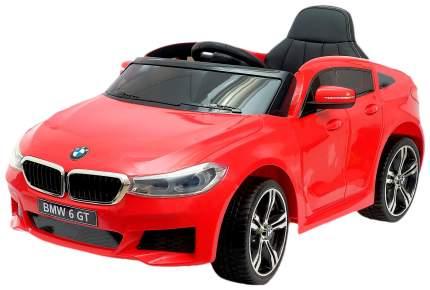 """Электромобиль """"BMW 6 Series GT"""", окраска красный, EVA колеса, кожаное сидение Sima-Land"""