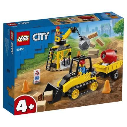 Конструктор LEGO City Great Vehicles 60252 Строительный бульдозер