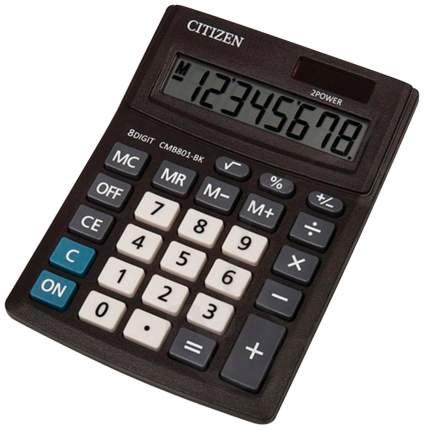 Калькулятор Citizen BUSINESS LINE CMB801BK, настольный, 8 разрядов, двойное питание