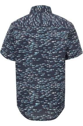Рубашка для мальчика Finn Flare, цв. синий, р-р. 134