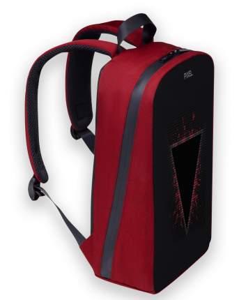 Рюкзак с Led-экраном Pixel Plus - Red Line (бордовый)