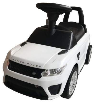 Каталка детская Chilok bo Машина Range Rover Белый