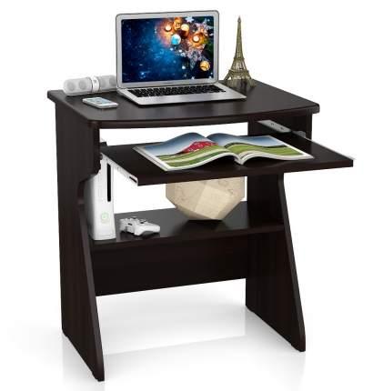 Стойка для ноутбука Мебельный Двор СК-1 венге, столешница из МДФ, 67х55х75 см.