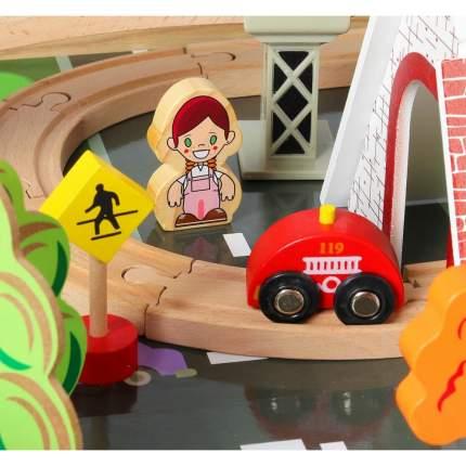 Деревянная железная дорога Animal World - Большое путешествие 118 деталей