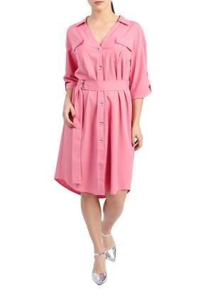 Платье женское LACY S10619(4520) розовое 58 RU