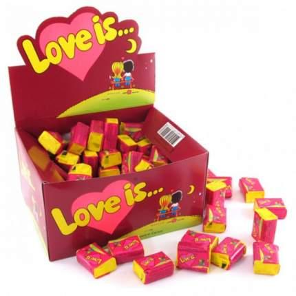 Жевательная резинка Love is вишня-лимон коробка 100 штук