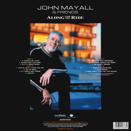Виниловая пластинка John Mayall & Friends Along For The Ride (2LP)