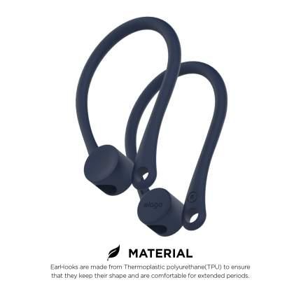 Держатель Elago Earhook (EAP-HOOKS) для наушников Apple AirPods (Indigo Blue)