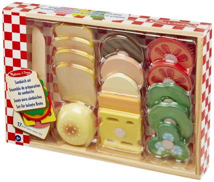 Набор продуктов игрушечный Melissa & Doug Готовь и играй Сэндвич