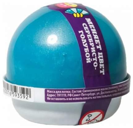 Жвачка для рук Волшебный мир Nano Gum Серебристый-Голубой