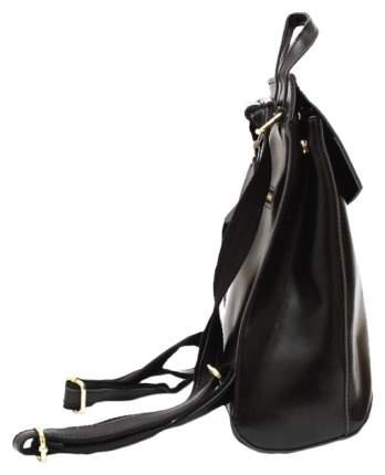 Рюкзак женский кожаный Lemon Tree French 6,9 л черный