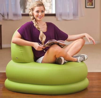 Intex, 68592, Надувное кресло Mode Chair, 84х99х76см, цвет Салатовый